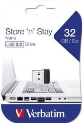 USB flash disk Nano, 32GB, USB 2.0, 10/3MB/sec, VERBATIM
