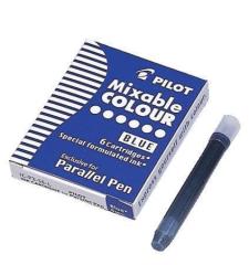 Náplň do plnicího pera Parallel Pen, modrá, PILOT ,balení 6 ks
