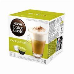 Kapsle do kávovaru, 16 ks, NESCAFÉ Dolce Gusto Cappuccino ,balení 16 ks