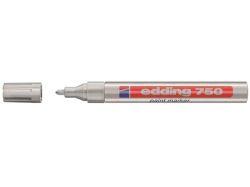 Lakový popisovač 750, stříbrná, 2-4mm, EDDING