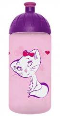 FreeWater láhev 0,5l Kočka růžová, FREEWATER