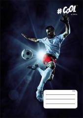 Sešit Sport, A4, mix motivů, čtverečkovaný, 32 listů, COOL by Victoria