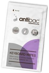 Čisticí ubrousky na klávesnice, 80 ks, ANTIBAC