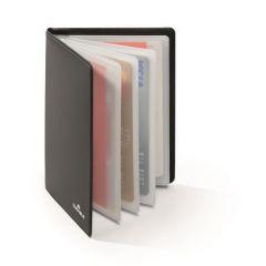 Pouzdro na kreditní karty, černá, s RFID ochranou, 8 ks, DURABLE