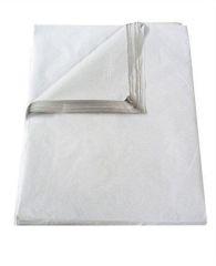 Balící papír, jemný, bílý, v listech, 80x60 cm, 20 kg