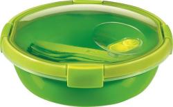 Box na jídlo  Smart to go, zelená, s příborem, 1l, CURVER