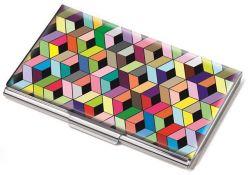 Vizitkář Cubes, kov, pro 11 ks, TROIKA
