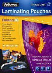 Laminovací fólie, lesklá, A5, 80 micron,  FELLOWES ,balení 100 ks