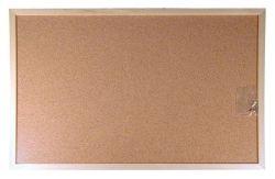 Korková tabule, 30x40cm, dřevěný rám, VICTORIA