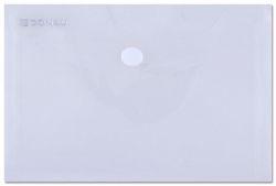 Spisové desky, s drukem, transparentní, A6, PP, DONAU