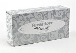 Odličovací ubrousky, 2vrstvé, 150 ks, TENTO ,balení 150 ks