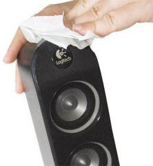 Čistící ubrousky Tech-wipe, na dotykové obrazovky, bez alkoholu, vlhčené, 25 ks, AF ,balení 25 ks