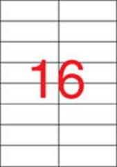 Etiketa, ILC, 105x37 mm, dvouřadé, 1600 ks/bal., APLI