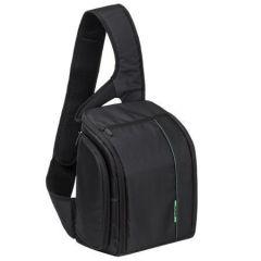 Messenger bag, for  DSRL digital camera,  RIVACASE 7470 black