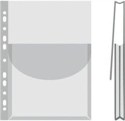 Obal na katalogy, transparentní, A4, 170 micron, 27 mm, DONAU ,balení 12 ks