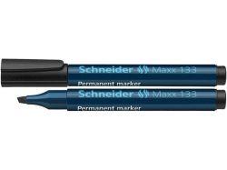 Permanentní popisovač Maxx 133, černá, 1-4mm, klínový hrot, SCHNEIDER