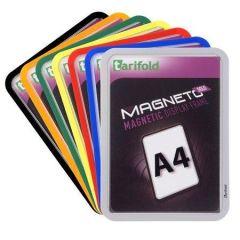 Prezentační kapsa Magneto Solo, stříbrná, magnetická, A4, TARIFOLD ,balení 2 ks