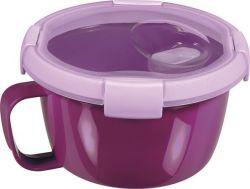 Box na jídlo  Smart to go, purpurová 0,9l, CURVER