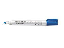 Popisovač na bílou tabuli Lumocolor 351, modrá, kuželový hrot, 2mm, STAEDTLER