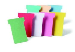 T-karty, růžová, vel. 2  NOBO ,balení 100 ks