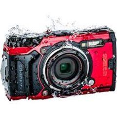 Fotoaparát TG-6, červená, 4K, Wi-Fi, vodotěsný, OLYMPUS