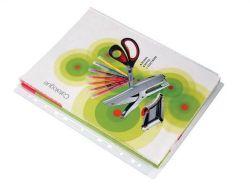 Obal na katalog, transparentní, A4, 100 micron, VICTORIA ,balení 10 ks