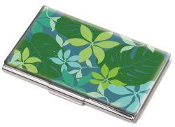 Vizitkář Green Jungle, kov, pro 11 ks, TROIKA