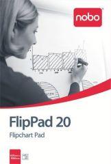 Flipchartový papír, 20 listů, NOBO ,balení 20 ks
