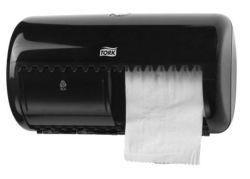 Zásobník na toaletní papír, černá, T4 systém, TORK