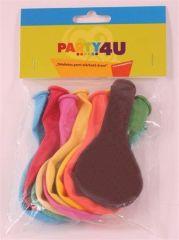 Balonky, mix barev, 26 cm ,balení 10 ks