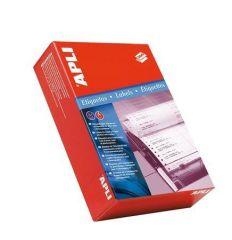 Tabelační etiketa, dvouřadé, 88,9 x 23,3mm, 12000ks/bal., APLI