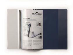 Desky s rychlovazačem DURAPLUS®, tmavě modrá, A4, široké, DURABLE