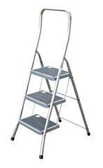 Schůdky, 3 schody, hliníkové, KRAUSE Toppy XL