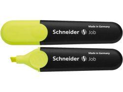 Zvýrazňovač Job 150, žlutá, 1-5mm, SCHNEIDER