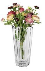 Váza skleněná, 23 cm, ClearLine