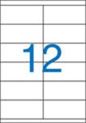 Etiketa, ILC, 105x48 mm, dvouřadé, 1200 ks/bal., VICTORIA ,balení 100 ks