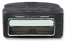USB 2.0 kabel, USB A - USB B, 1,8 m, MANHATTAN, černý