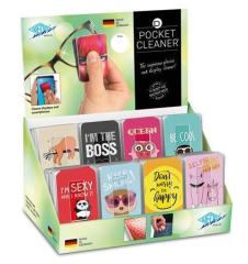 Čistící ubrousek Pocket Cleaner, různé vzory, WEDO ,balení 32 ks