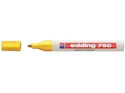 Lakový popisovač 750, žlutá, 2-4mm, EDDING