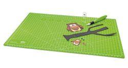 Řezací podložka Comfortline, zelená, pro DIY, A3, WEDO