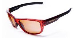 Sluneční brýle Red Knight, červená, HD polarizační, AVATAR