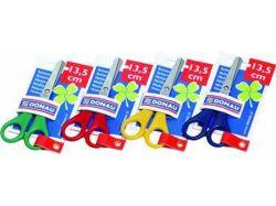 Nůžky dětské, mix barev, 13,5 cm, DONAU