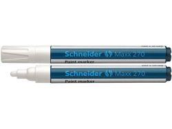 Permanentní lakový popisovač Maxx 270, bílá, 1-3mm, SCHNEIDER