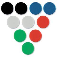 Magnety, červená, 20mm, 8 ks, NOBO ,balení 8 ks
