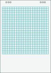 Blok do flipchartu, čistý, 68x98cm, 5x20 str., VICTORIA ,balení 100 ks
