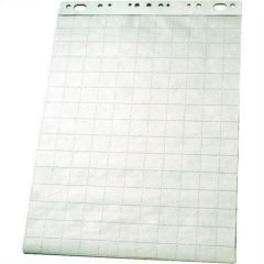 Flipchart blok, papír bílý - s mřížkou, 60x85 cm, 50 listů, ESSELTE ,balení 50 ks