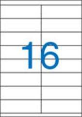 Etiketa, ILC, 105x35 mm, dvouřadé, 1600 ks/bal., VICTORIA ,balení 100 ks