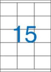 Etiketa, ILC, 70x50,8 mm, třířadé, 1500 ks/bal., VICTORIA ,balení 100 ks