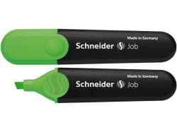 Zvýrazňovač Job 150, zelená, 1-5mm, SCHNEIDER
