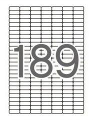 Etiketa, ILC, 25,4x10 mm, 1890 ks/bal., APLI ,balení 10 ks